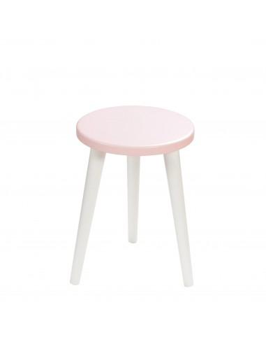 Round plywood stool Aurora - 1