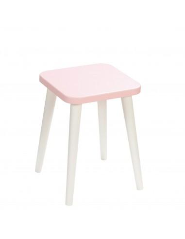 Square plywood stool Aurora - 1