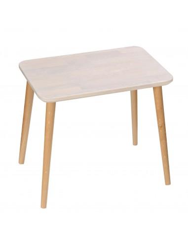 Rechteckiger Tisch aus massiver Eiche - 1