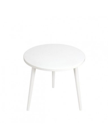 Runder Tisch aus Sperrholz - 1