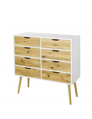Komoda BOX, 8-szuflad | Komody - moonwood.pl, Komoda biała lub czarna z szufladami BOX, 8-szuflad BOX - BOXKM05