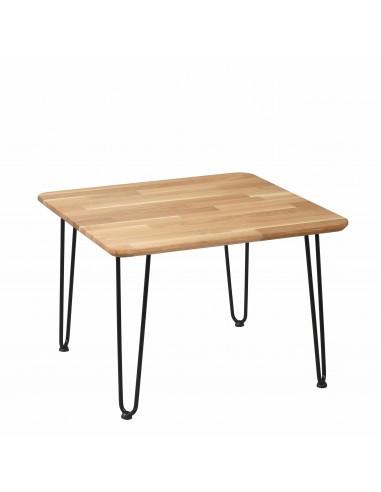 Iron Oak Rustik Square table - 2