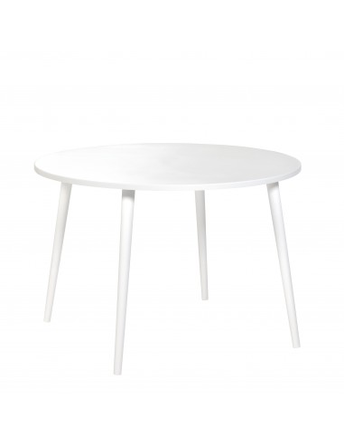 Plywood round table - 1