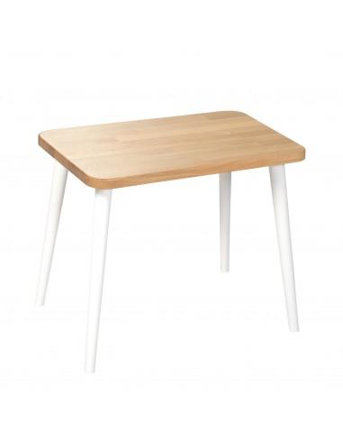 Rechteckiger Tisch aus massiver Eiche - 49