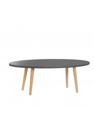 Oval plywood bench - 3