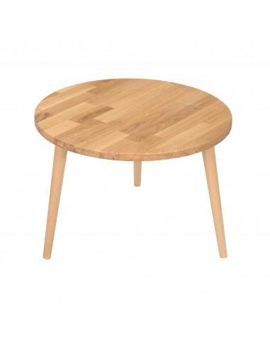 Ein runder Tisch aus massiver Eiche - 59