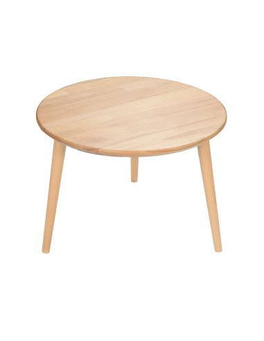 Round table made of solid beech - 7