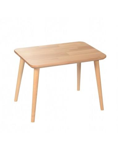 Rechteckiger Tisch aus massiver Buche - 12