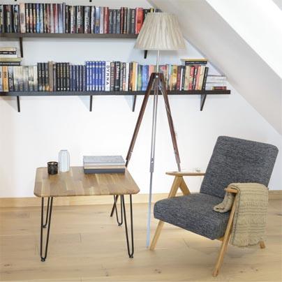 Inspiracja z wykorzystaniem stolika Iron Oak